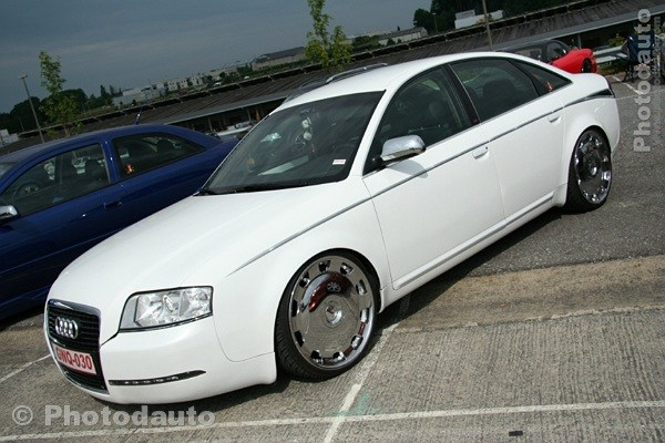 Audi A6 Blanche Photo Voiture Tuning