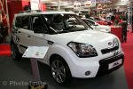 Kia Soul blanc Dragons