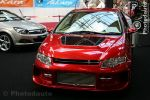 Honda Civic rouge avant
