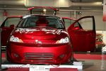 Ford Focus rouge Pioneer