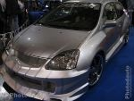 Honda Civic grise face